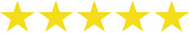 5 Sterne Kundenbewertungen